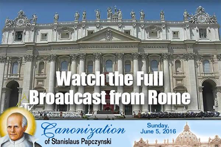 Watch the Full Canonization Mass